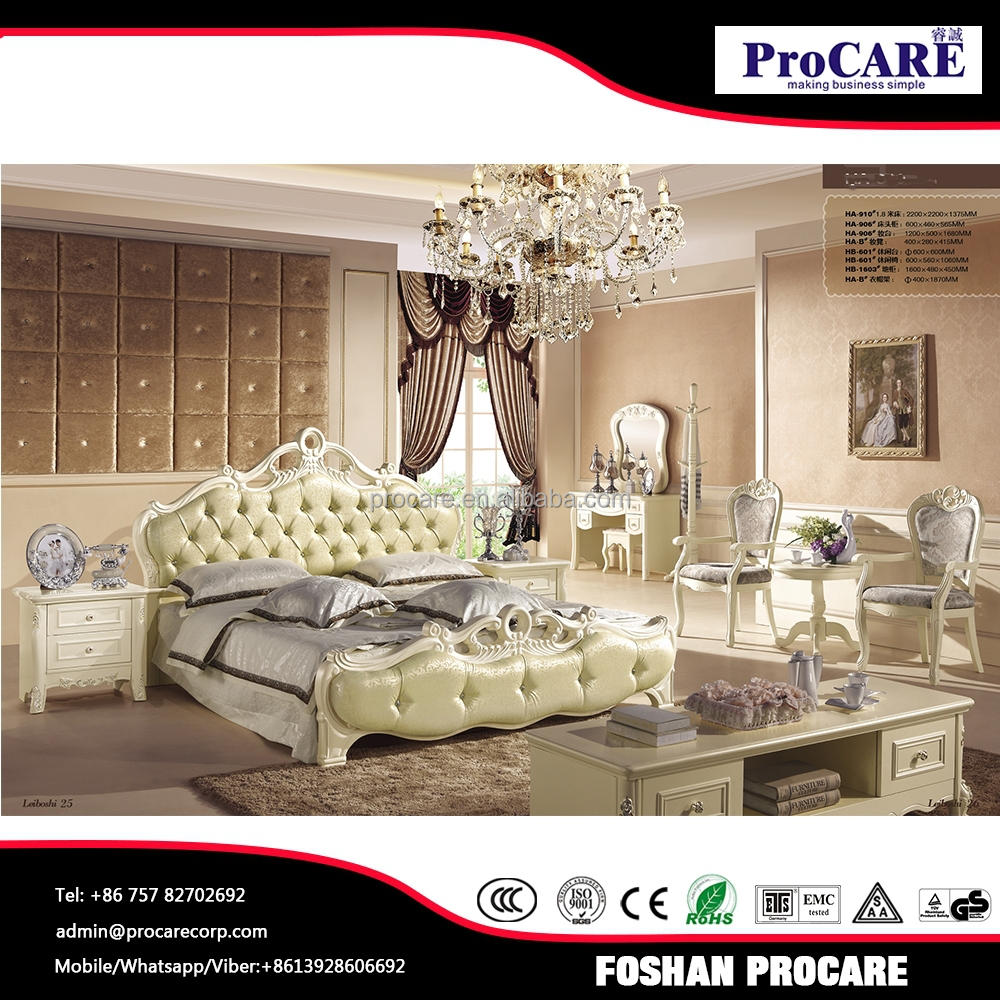 Italian noble style Bedroom Furniture sets in Foshan