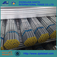 ST37 1.5 inch galvanized steel pipe for irrigation
