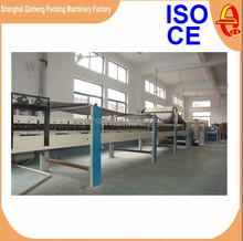 Complete 3 5 7 ply e flute corrugated cardboard carton box machine production line