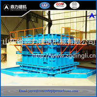 Reinforced concrete box culvert mould and machine