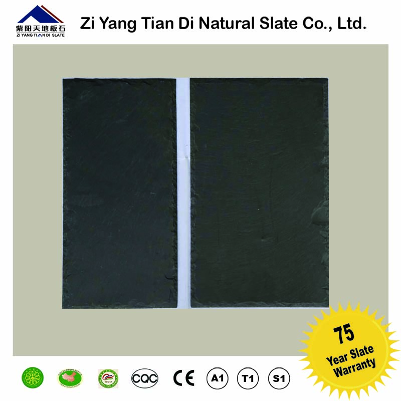 china natural quartzite black slate suitable for roofing flooring wall caldding