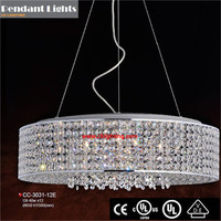 Top quality big crystal lighting chandelier cfl pcb assembly