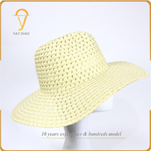Most popular products china Competitive Price paper panama hat vs fedora