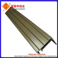 Color Anodized and Powder Coated Solar Aluminium Profile for Solar Panel Frame