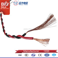 OEM electrical cable wire 6mm, 2.5mm twisted electrical wire cable