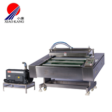 20%off Nitrogen Airzero Vacuum Sealer Flushing Packaging for Chicken Meat Sausage Seafood Vegetable with CE
