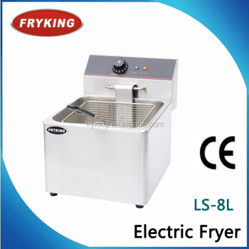 stainless steel counter top electric deep fryer( CE certified )