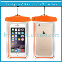 Fluorescent Light Mobile Phone waterproof pouch