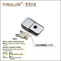 [TANJA] A107 Concealed toggle latch /stainless steel draw latch with key & catcher