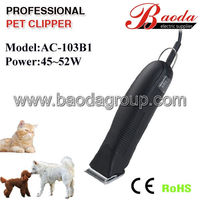 Pet clipper/pet hair clipper heavy duty