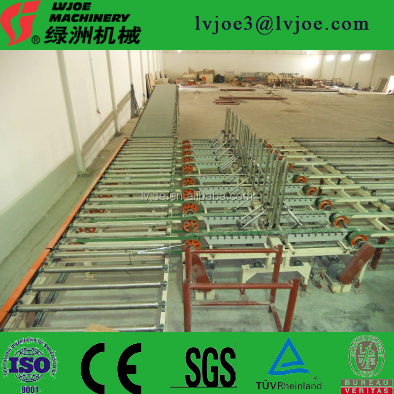 cheap plaster powder making machine, cheap paper faced gypsum board production line