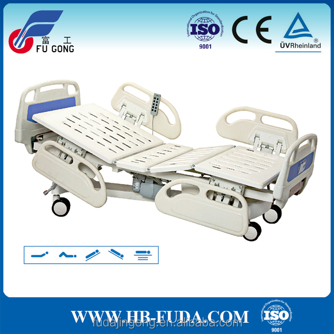 5 function electric bed hospital equipment list nursing home furniture