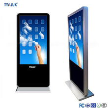 55'' Samsung IPS LCD touchscreen monitor interactive touch kiosk with wifi
