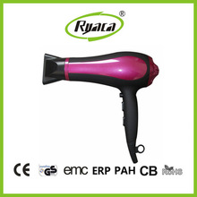 Electric Hair Dryer with Spring Button Safety