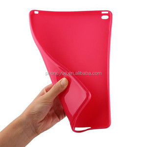 Candy Shockproof Silicone Rubber Tablet TPU Gel Soft Back Cover Case for iPad Air 2