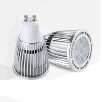 GU5.3/MR16/ E27/ B22/ E14 aluminum housing cob 80mm 3W 5W led spot light gu10 with CE ROHS