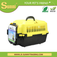 Pet carrier bag soft plastic prefab dog house