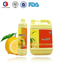 High quality all natural mild formulated dishwashing liquid in bulk