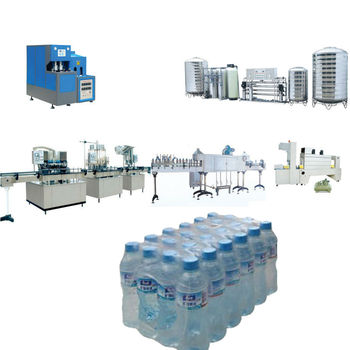 1000BPH Semiautomatic Bottled Water Production Line
