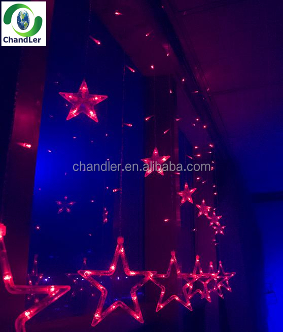 Christmas Star Lights Outdoor Simple New Style Beautiful Outdoor Christmas Star LightsLed Icicle Light