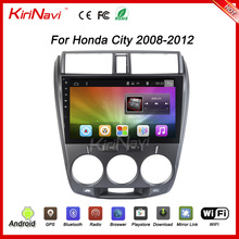"KiriNavi WC-HC1008 10.2"" Android 6.0 car navigation system dashboard for honda city 2008 - 2012 Dashboard Placement"