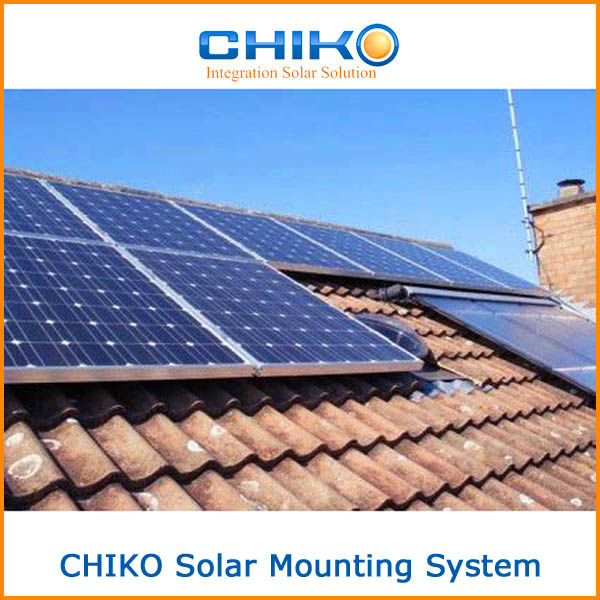 Low price Rooftop solar pv Panels system