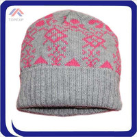 2015 winter hats OEM Printed beanie