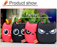 Cute Demon Cartoon Devil mobile Phone Backup Battery Charger 7800mAh Power Bank Gift