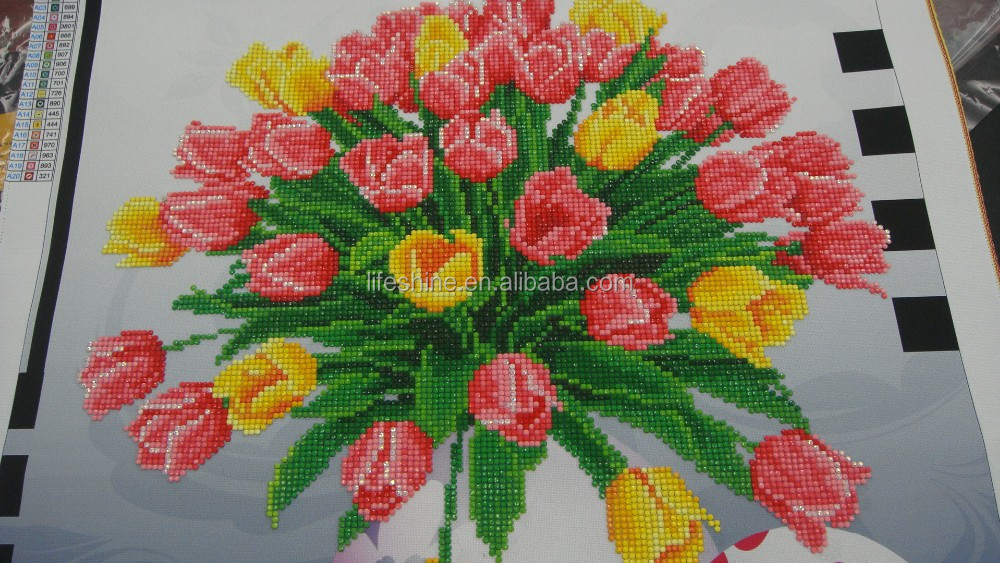 High quality DIY crystal diamond painting kit has enjoying great popularity in the world market