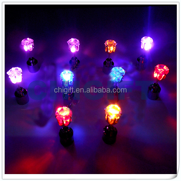 Electronic Gifts Rainbow LED Magnetic Earrings