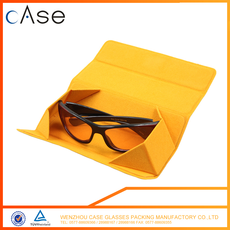 Promotional fashion design foldable glass cases for spectacles