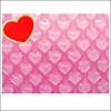 Wholesale Bubble Cushion Film Pink Heart