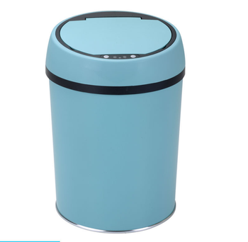 apartment intelligent plastic lid motion sensor trash can