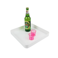 square beer tray bar serving tray Dia.32cm