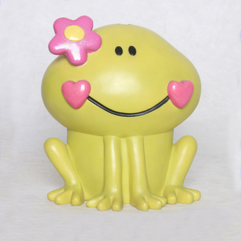 New Style Wholesale Resin Statues Unopenable Money Box