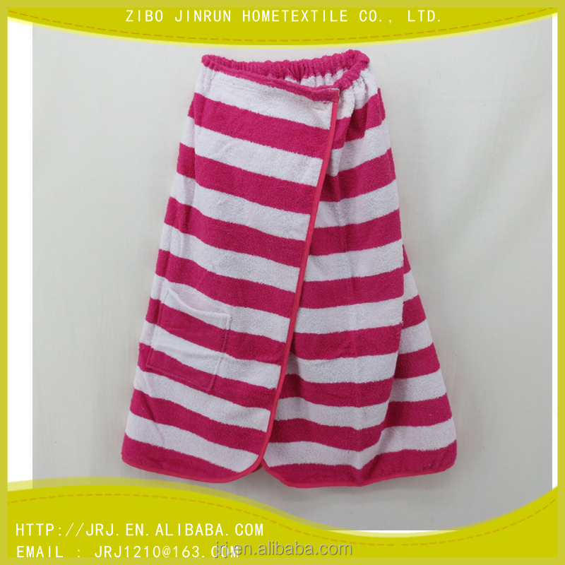 100% cotton terry towel adult bath skirt