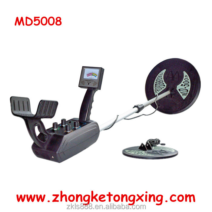 treasure hunter metal detector MD5008, gold metal detector, Accurate Underground Metal Detectors