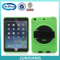 Hybrid Plastic Silicone Hard Cover Snap Case Kickstand For ipad mini