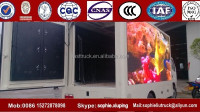 Hot Salling FOTON 4x2 Mobile Digital Advertising LED Truck