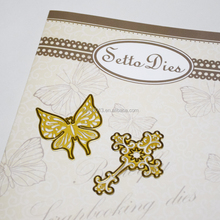 Hot sale metal die cut butterflies for sizzx machine