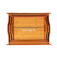 Bamboo gongfu tea tray Serving Tea Tray for Restaurant