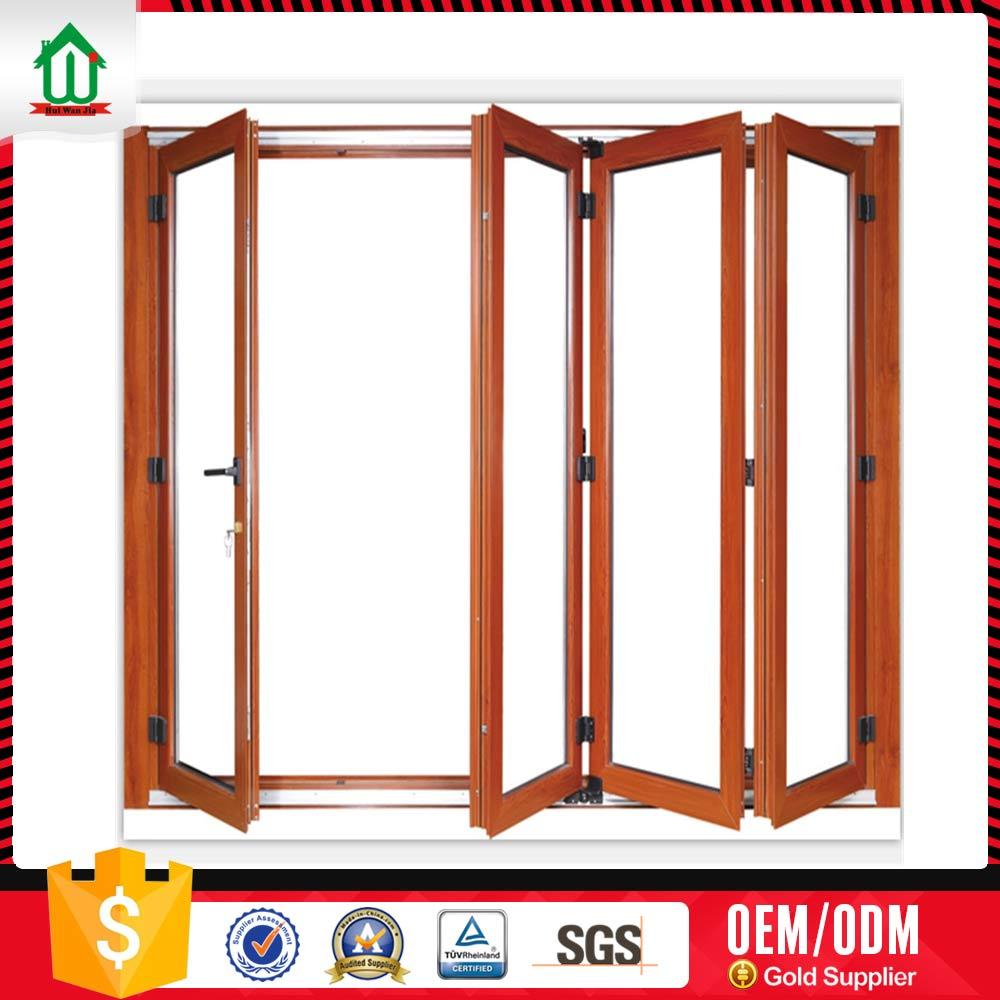 Folding Doors Product : Accordion aluminum door panle folding doors