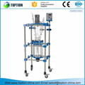 High Qualified Double Small Volume Jacketed Lab Glass Reactor