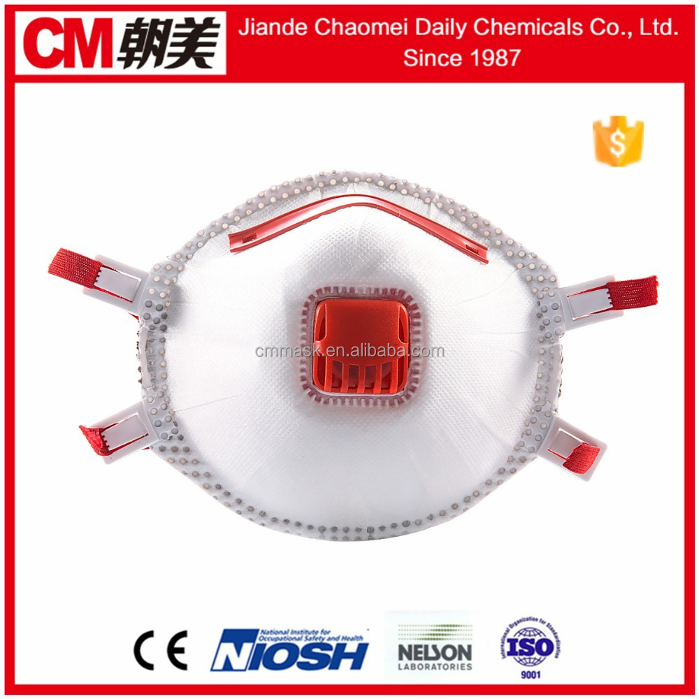 CM High quality non woven protective disposable dental face mask with shield