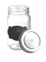 clear 500ml glass jars wholesale for honey or food