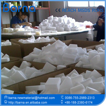 Large PP Bag packing cleaning sponges, car cleaning sponge for wash with customized packing, white melamine foam