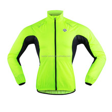 Pro Ride Men's Quick Dry Windproof Waterproof Light-weight Lime Green Reflective cycling jacket