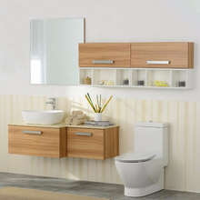 Best Selling eco-friendly paint solid wood bathroom furniture poland
