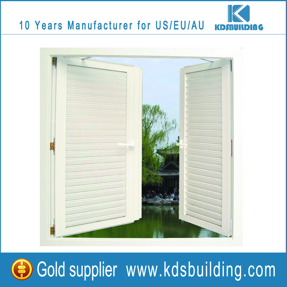 China Supplier Latest Style French Aluminum Casement Eterior Shutters