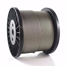 AISI 304 Twisting Flexible Soft stainless steel wire rope